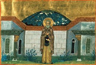 Saint Grégoire le Décapolite - ménologue de Basile II
