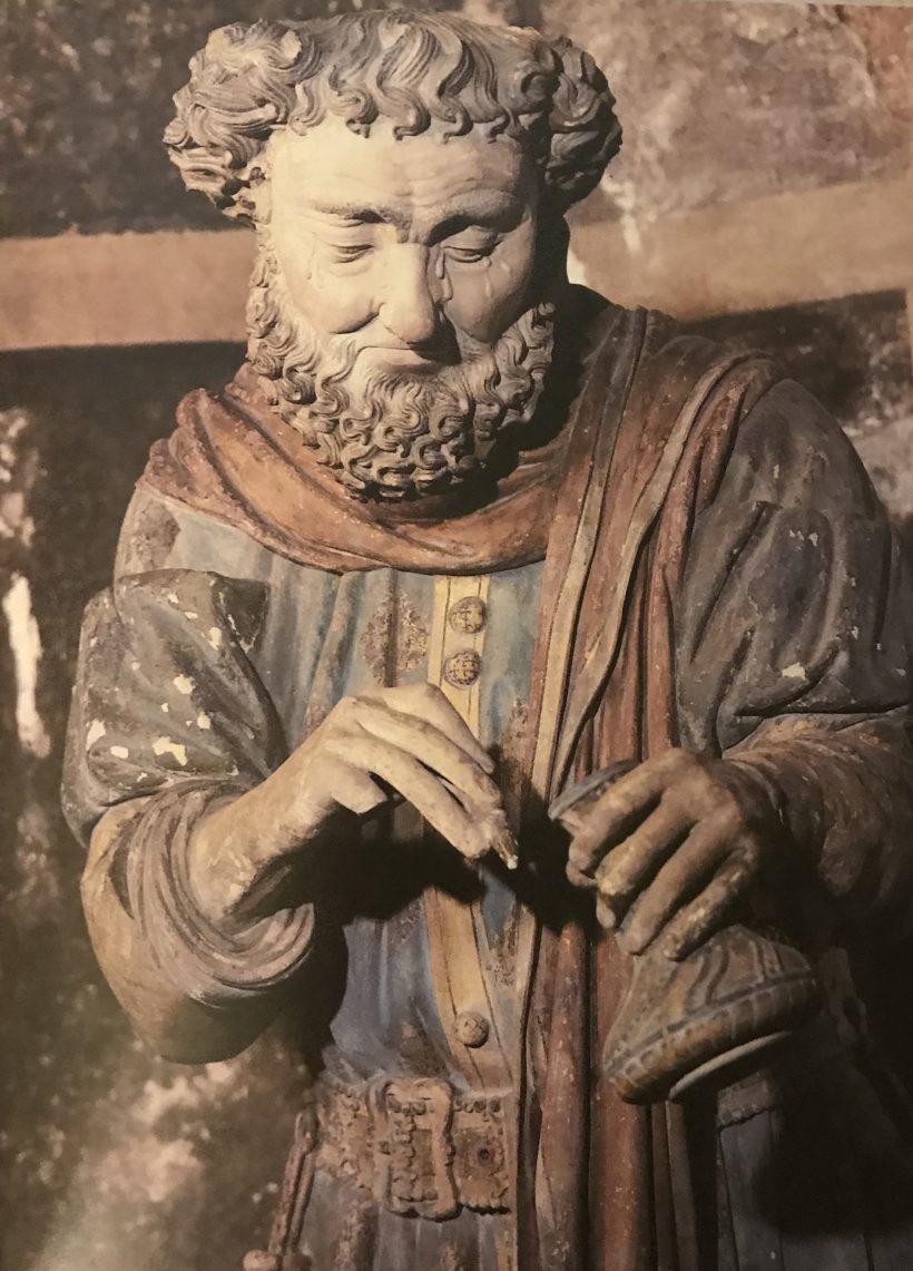Mise au tombeau de Chaumont - Nicodème.