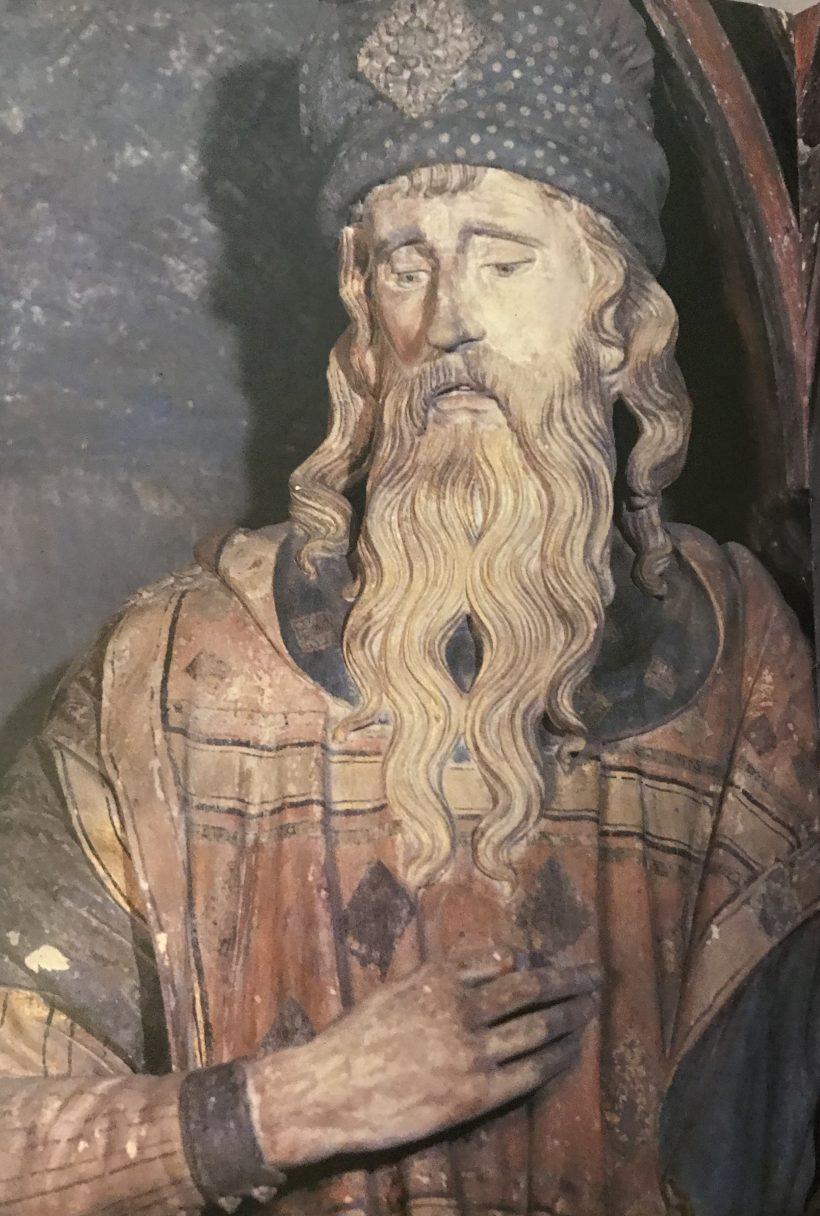Mise au tombeau de Chaumont - Joseph d'Arimatie