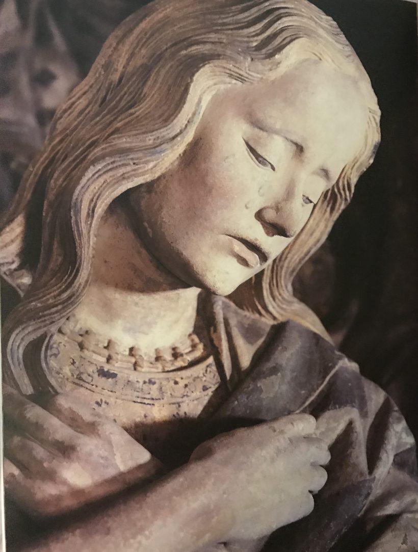 Mise au tombeau de Chaumont - Marie Madeleine