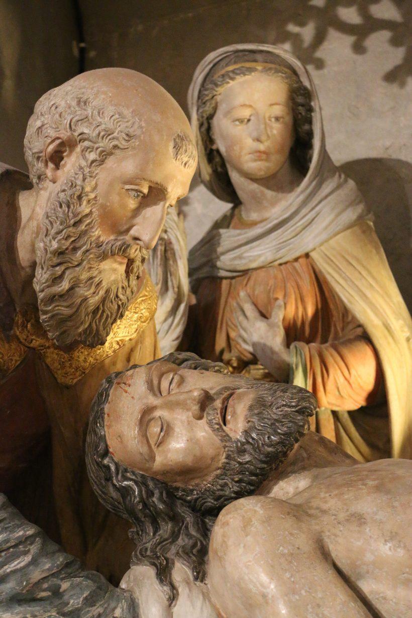 Le Christ de la mise au tombeau d'Amboise