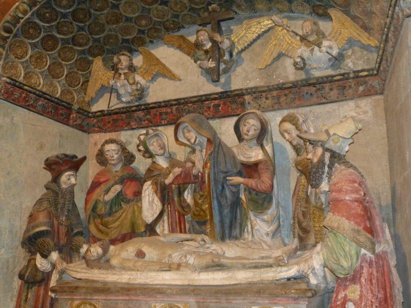 La mise au tombeau de Rodez