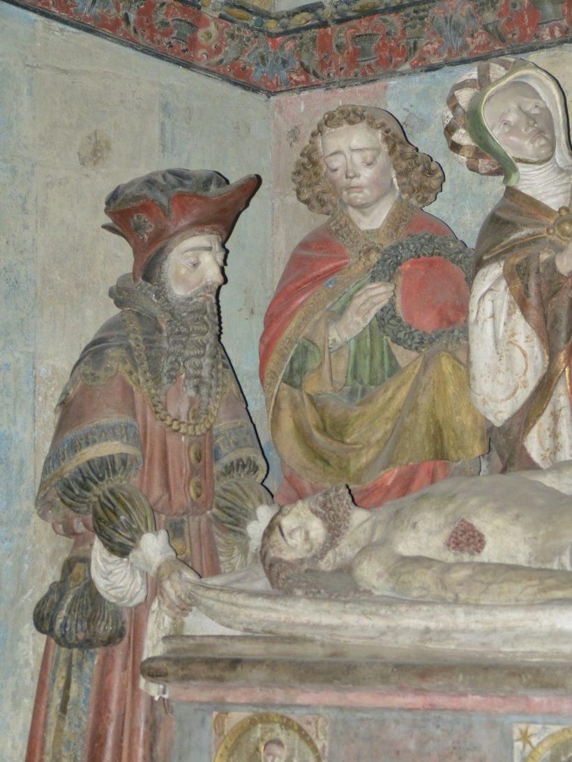 Mise au tombeau de Rodez. Joseph d'Arimathie.
