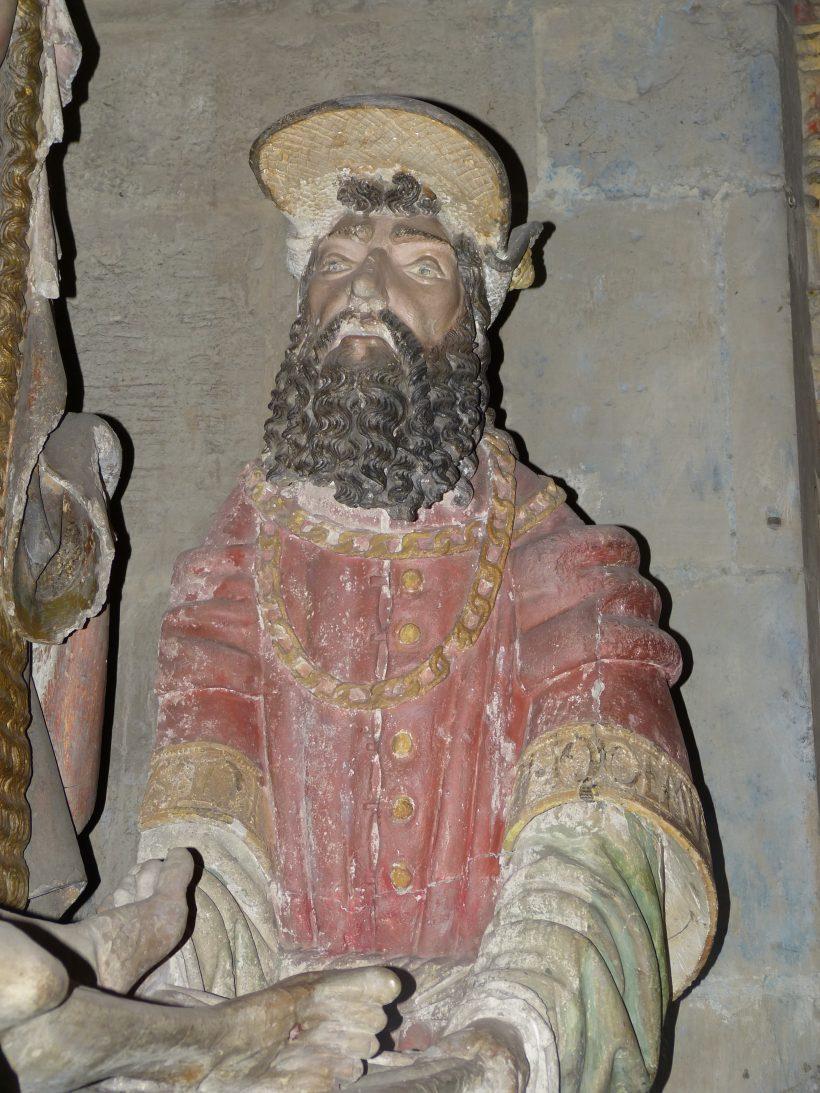 Mise au tombeau de Rodez. Nicodème.