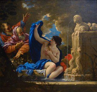 Suzanne et les Vieillards - Peinture de Michel Dorigny c. 1650