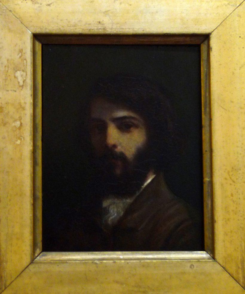 Gounod en 1840, pensionnaire de la Villa Médicis, peint par Ernest Hébert (1817-1908), qui obtint le prix de Rome en peinture la même année que Gounod pour la musique. Il deviendra ami du compositeur, et par la suite directeur de la Villa Médicis.