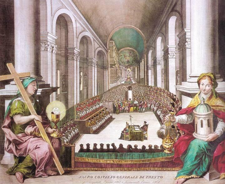 Le Concile de Trente - Pinacothèque de Trente