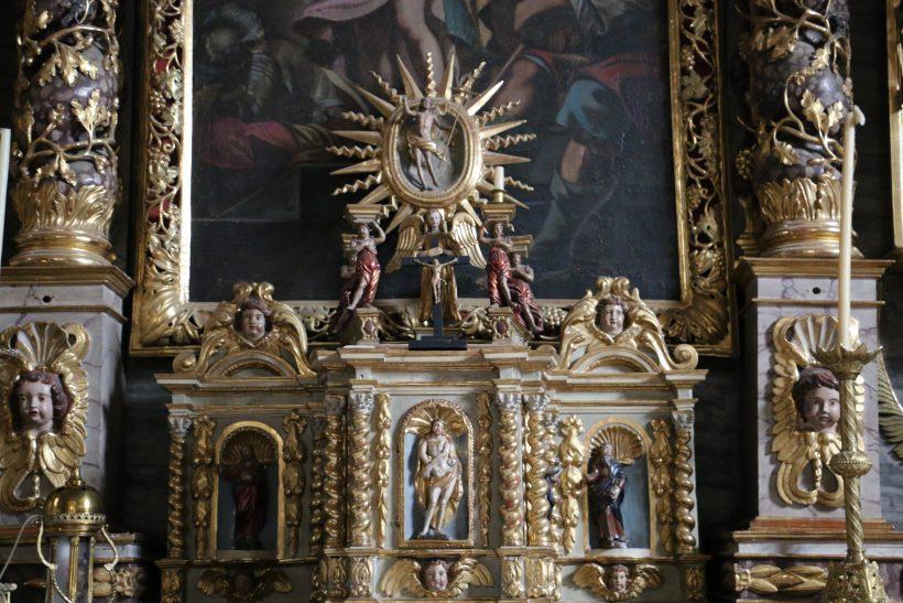 Tabernacle baroque savoyard.