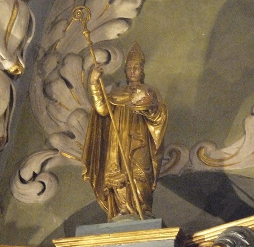 Saint Grat, évêque d'Aoste.