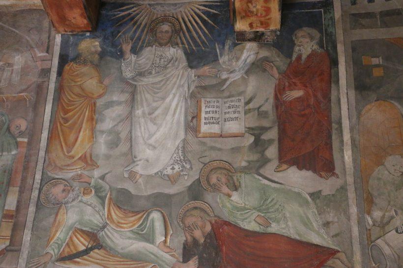 Chapelle Saint-Antoine de Bessans : la Transfiguration