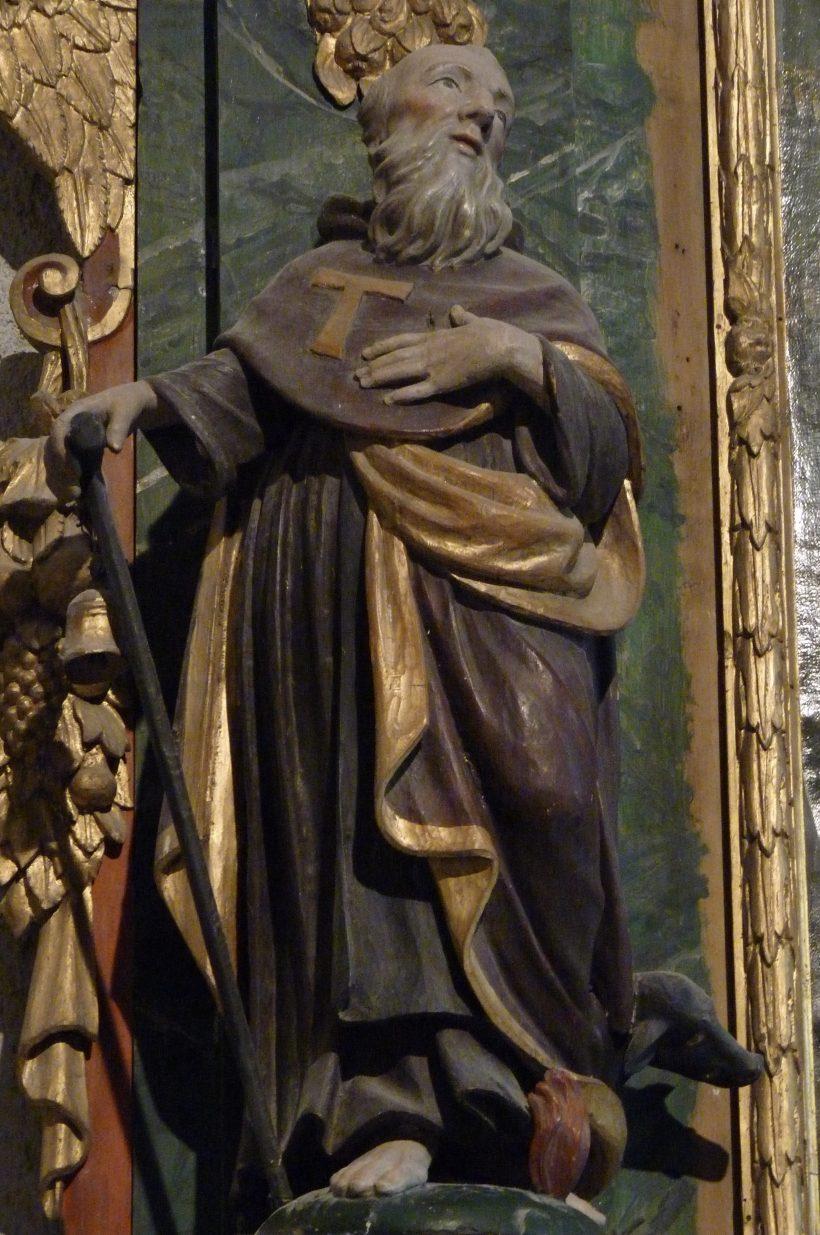 Saint Antoine le Grand, père des moines.