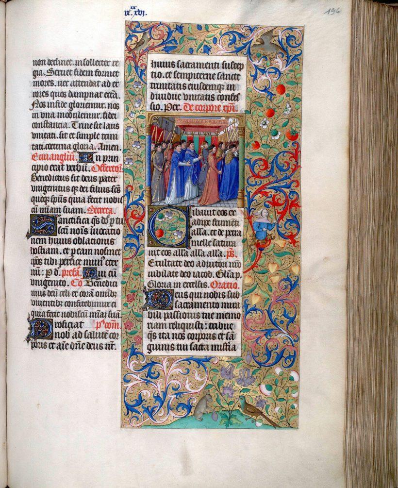 Missel de Saint-Germain-L'Auxerrois : la Fête-Dieu