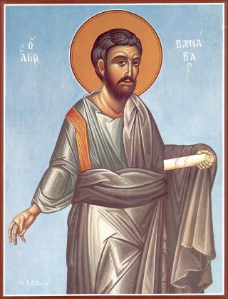 Saint Barnabé, apôtre.