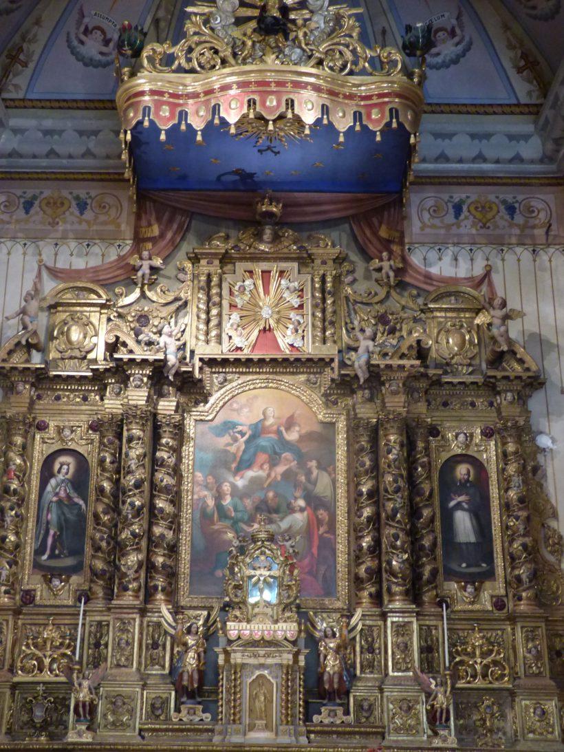 Notre-Dame de l'Assomtion de Bramans : le retable majeur