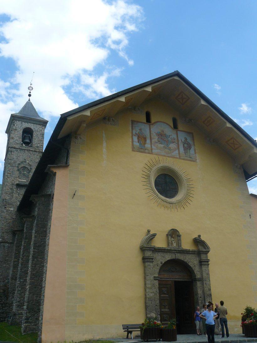 Valloire, église Notre Dame de l'Assomption.