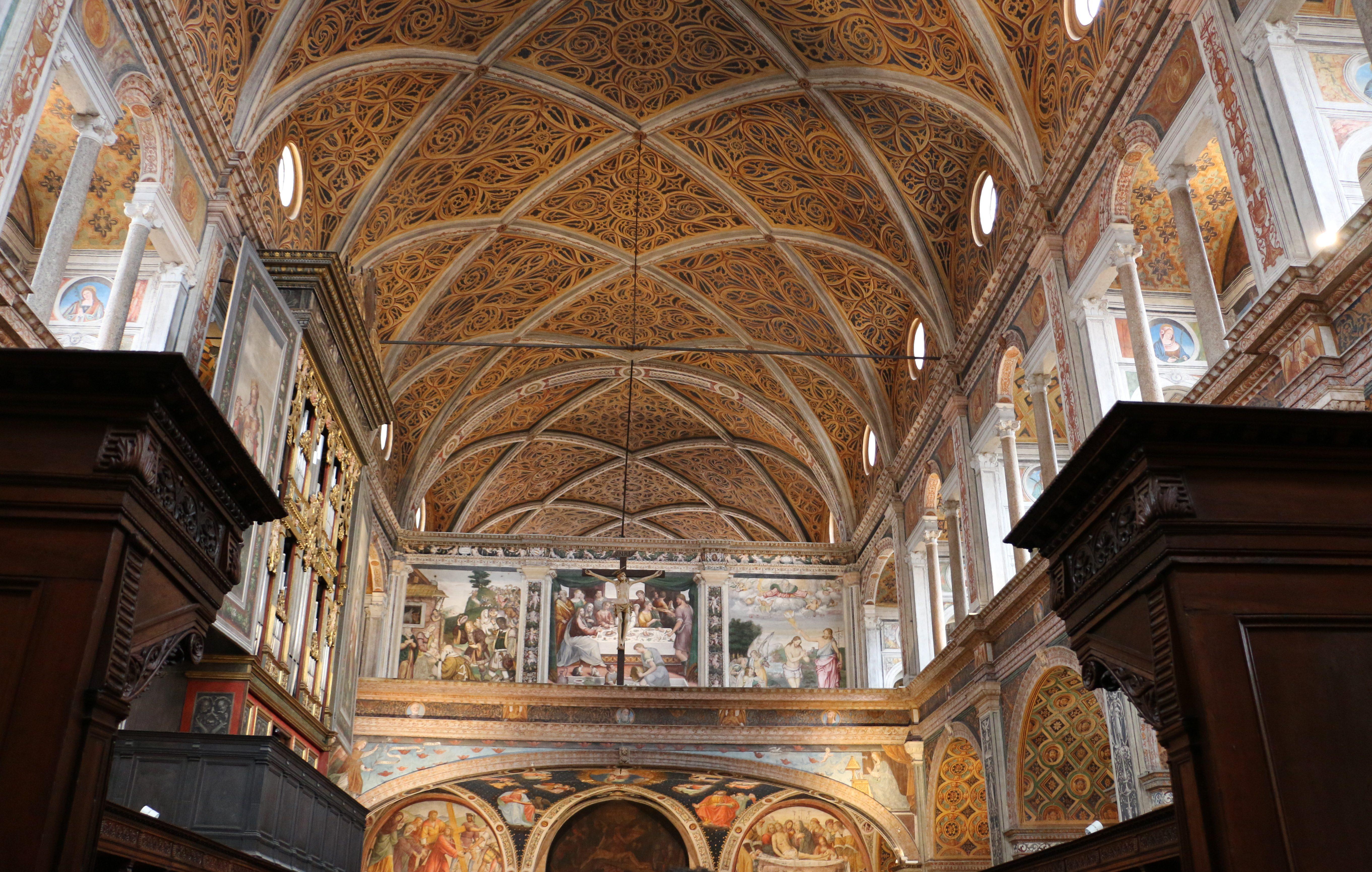 San Maurizio al Monastero Maggiore, l'église des moniales