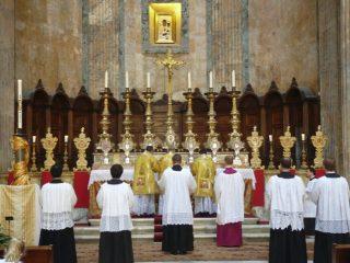 Messe ambrosienne au Panthéon