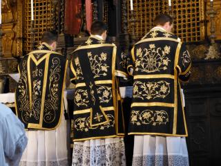 Messe de requiem pour Mgr Amodeo - Abbaye de Meda, 10 novembre 2012.