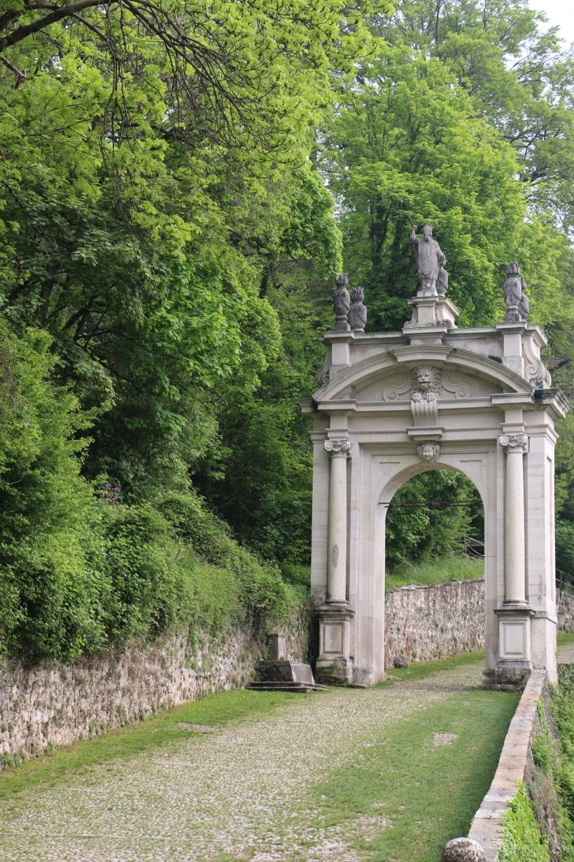 Sacro Monte de Varèse : arc triomphal