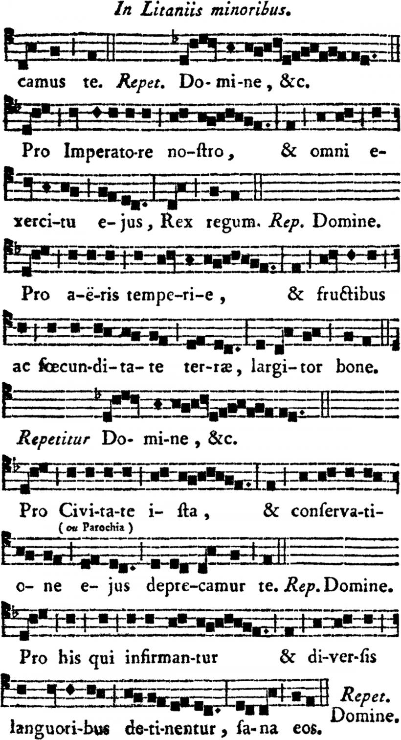 Litanie de saint Martin de Tours - seconde partie