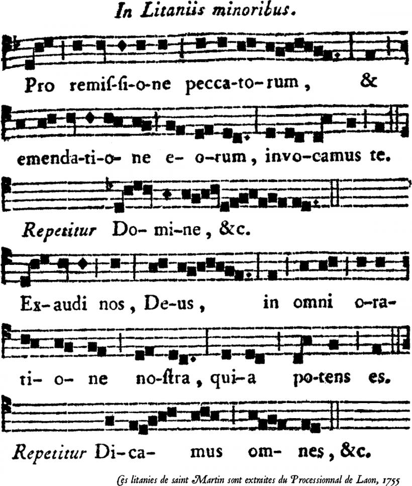 Litanie de saint Martin de Tours - troisième partie