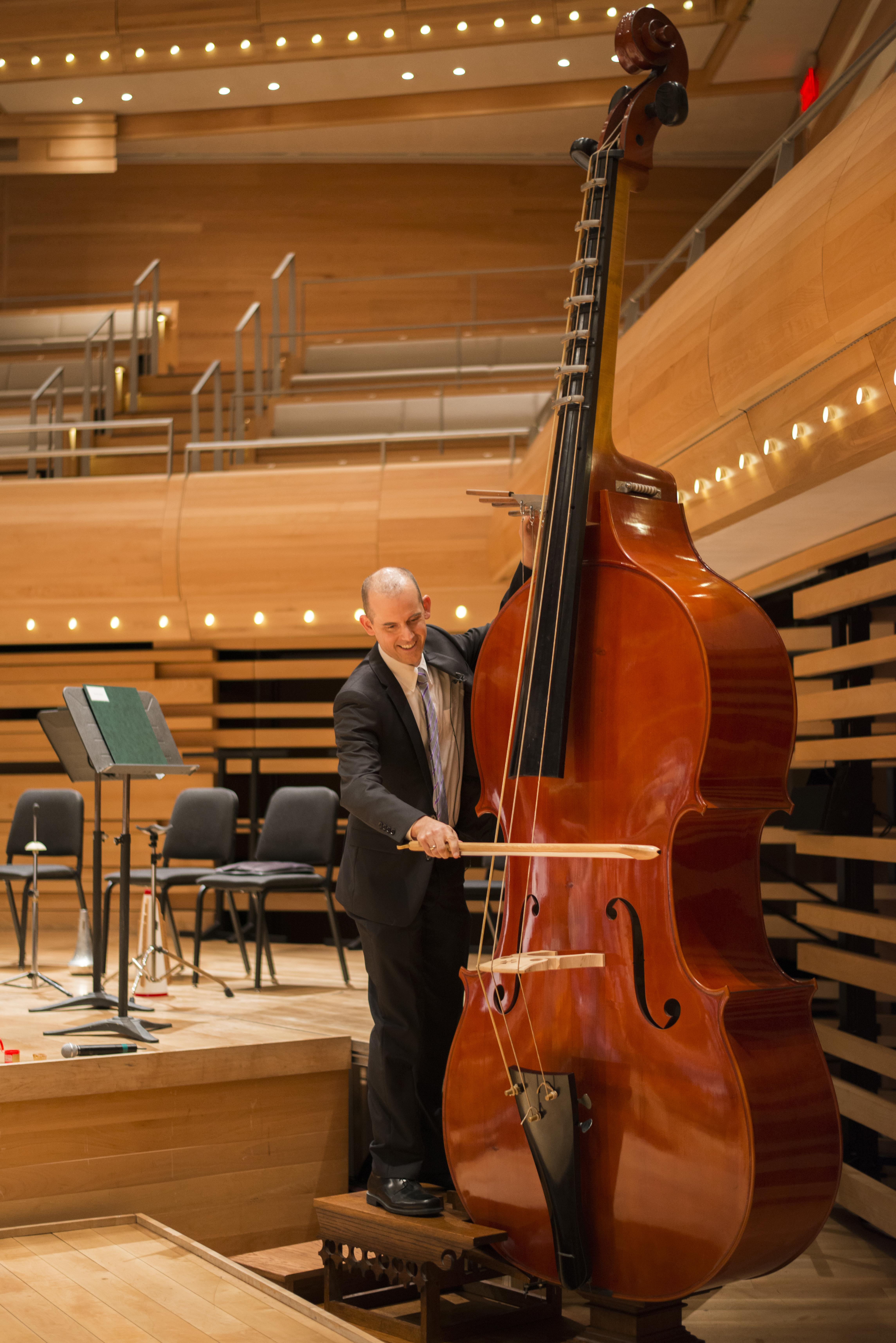 Octobasse de l'orchestre symphonique de Montréal