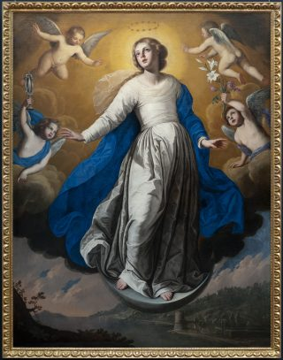 L'Immaculée Conception par Francesco de Rosa