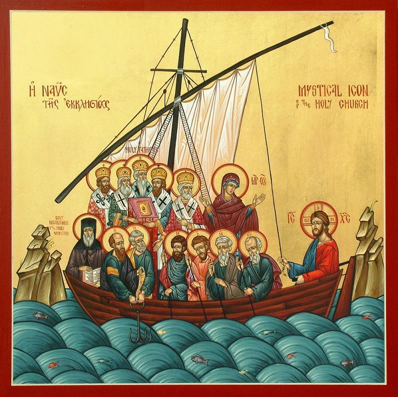 La nef mystique de l'Eglise