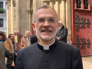 M. l'Abbé Eric Iborra, vicaire à Saint-Eugène de 2007 à 2019.