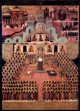Pères du Concile de Nicée II de l'an 787