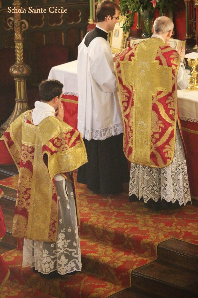 Fêtes patronales 2019 - Sainte messe de la solennité de saint Eugène - à l'offertoire.