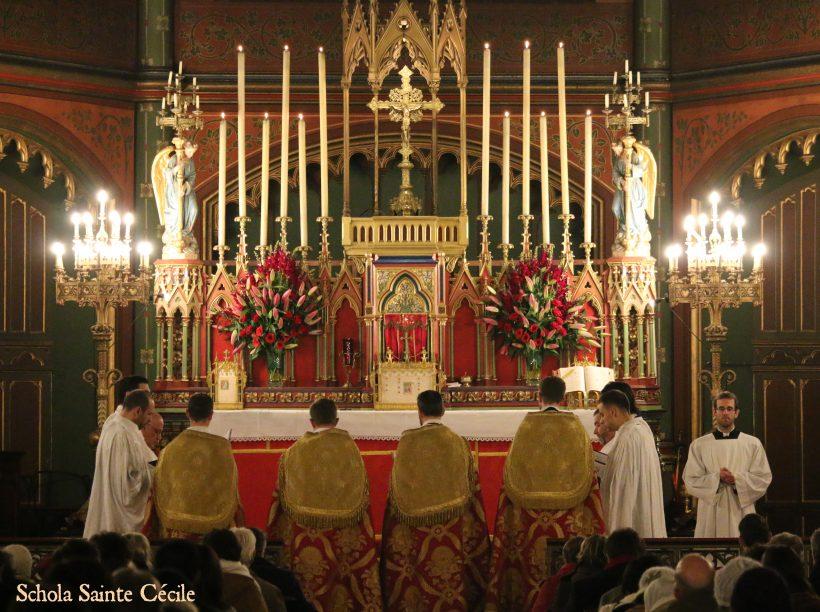 Fêtes patronales 2019 - Sainte messe de la fête de sainte Cécile - Messe des Paroisses de François Couperin.