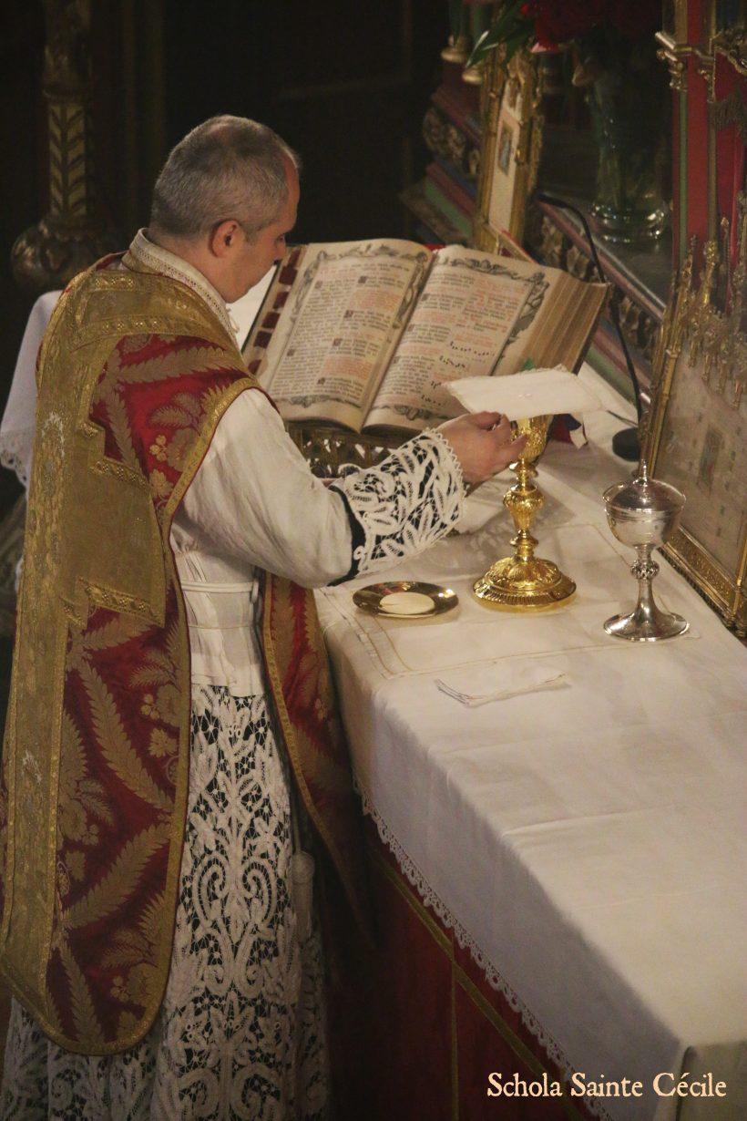 Fêtes patronales 2019 - Sainte messe de la solennité de sainte Cécile - Messe du Sacre de Louis XVI de François Giroust.