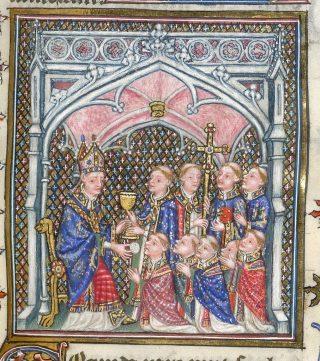 Ordination sacerdotales au samedi des Quatre-Temps : la communion des nouveaux prêtres