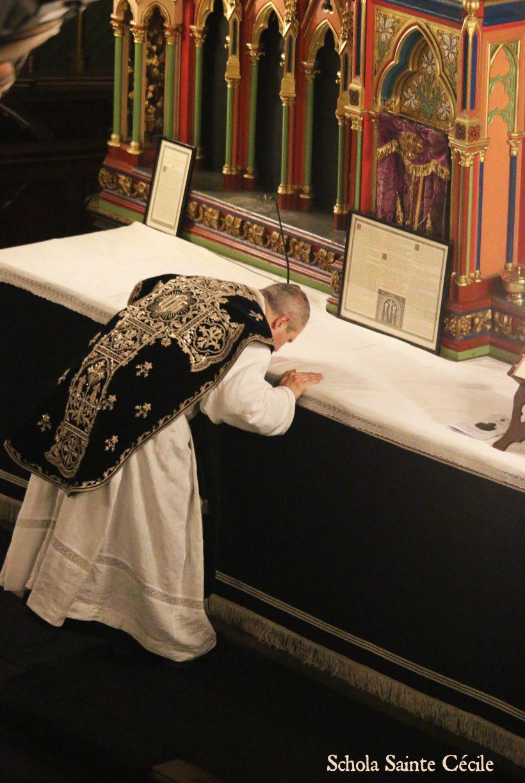 Requiem du 21 janvier 2020 : à la fin de la messe