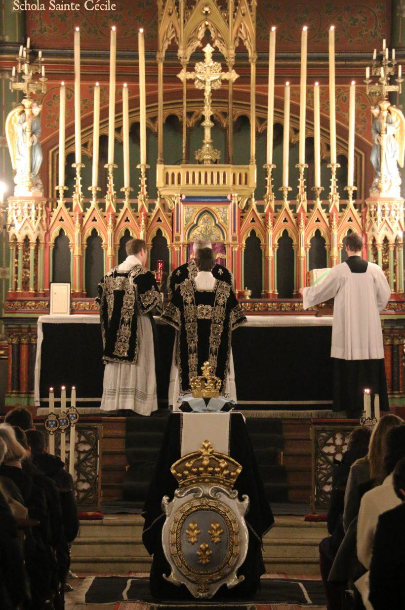 Requiem pour Louis XVI : après la communion