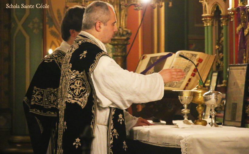 Requiem pour Louis XVI : au début du canon
