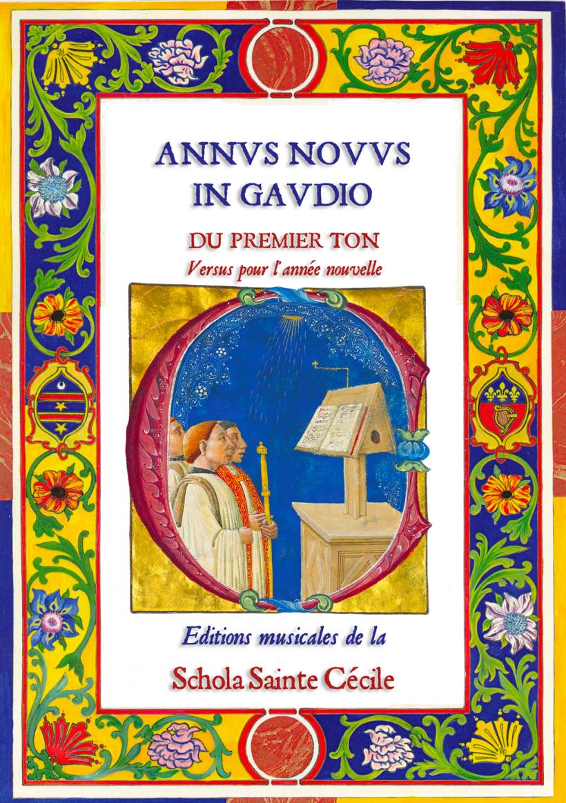 Annus novus in gaudio - versus pour la nouvelle année