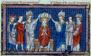 Sacre de saint Hilaire de Poitiers