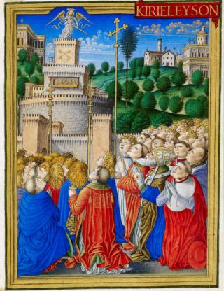 Procession de saint Grégoire - Litanies majeures