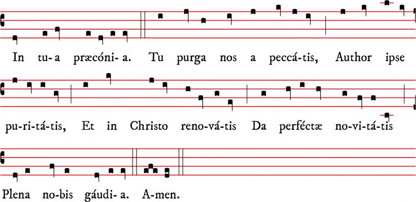 Prose Lux iocunda, lux insignis au Saint-Esprit d'Adam de Saint-Victor
