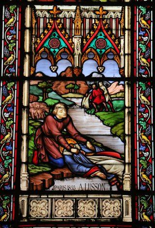 Le corps de saint Eugène dans le Lac Marchais