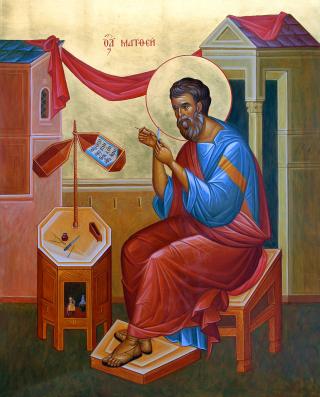 Saint Apôtre et Evangéliste Matthieu