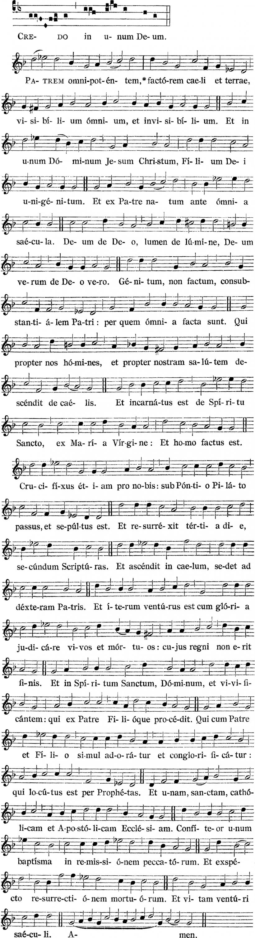 Messe royale du IInd ton d'Henry du Mont - Credo