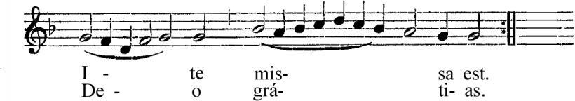 Messe royale du IInd ton d'Henry du Mont - Ite missa est