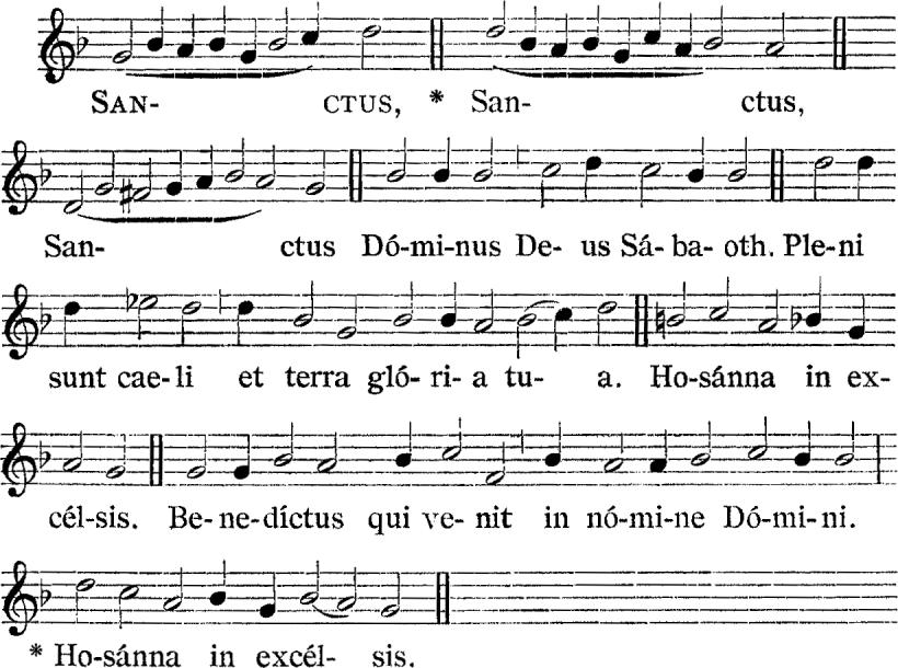Messe royale du IInd ton d'Henry du Mont - Sanctus