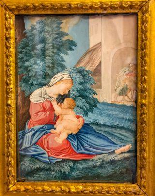 Le repos durant la fuite en Egypte - Agostino Decio (c. 1531-1590) - Sacro Monte de Varèse