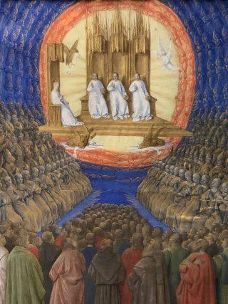La Toussaint par Jean Fouquet - Livre d'Heure d'Etienne Chevalier (1452-1460) - Château de Chantilly