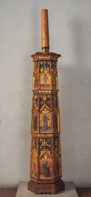 Vigile pascale Chandelier pascal espagnol du XVème siècle