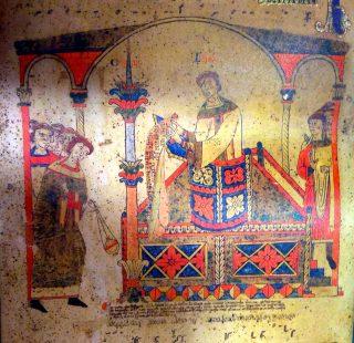 Vigile pascale - chant du Præconium paschale par le diacre
